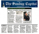 <h5>The Sunday Capital</h5><p>Local Media Hit</p>